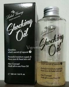 Label Young Shocking Oil